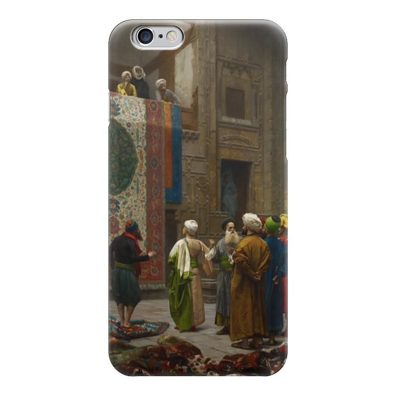Чехол для iPhone 6 глянцевый Printio Продавец ковров (жан-леон жером ) жан бертон охота