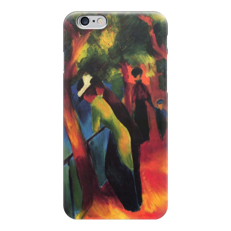 Чехол для iPhone 6 глянцевый Printio Солнечная прогулка (август маке) чехол для iphone 6 глянцевый printio зимняя прогулка