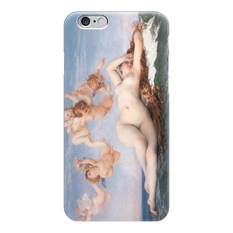 Чехол для iPhone 6 глянцевый Printio Рождение венеры (картина кабанеля) чехол для iphone 6 глянцевый printio дама в голубом картина сомова