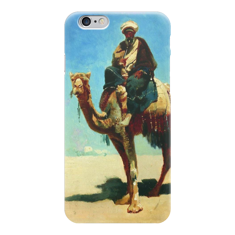 Чехол для iPhone 6 глянцевый Printio Араб на верблюде (василий верещагин) чехол для iphone 6 глянцевый printio сад на улице корто сад на монмартре ренуар