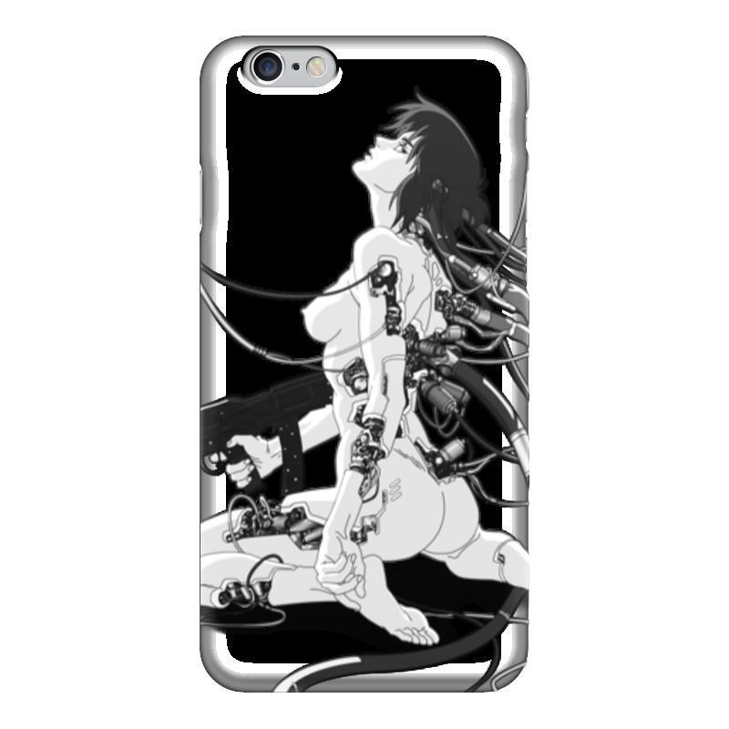 Чехол для iPhone 6 глянцевый Printio Призрак в доспехах мика варбулайнен призрак записки библиотекаря фантасмагория
