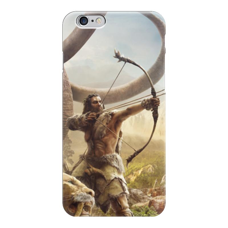 Чехол для iPhone 6 глянцевый Printio Фар край примал