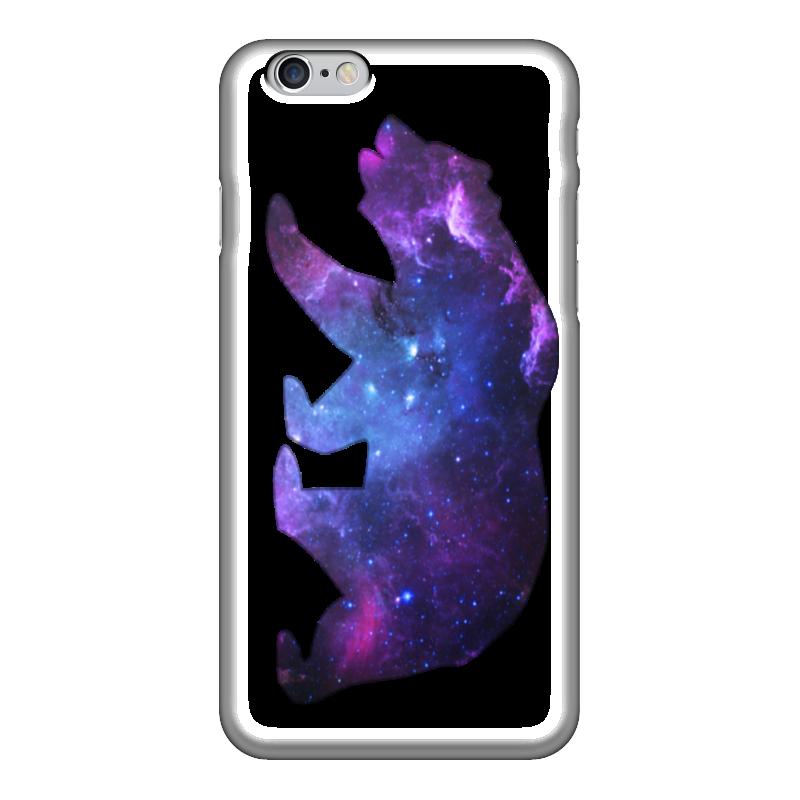 Чехол для iPhone 6 глянцевый Printio Space animals чехол для iphone 6 глянцевый printio my space