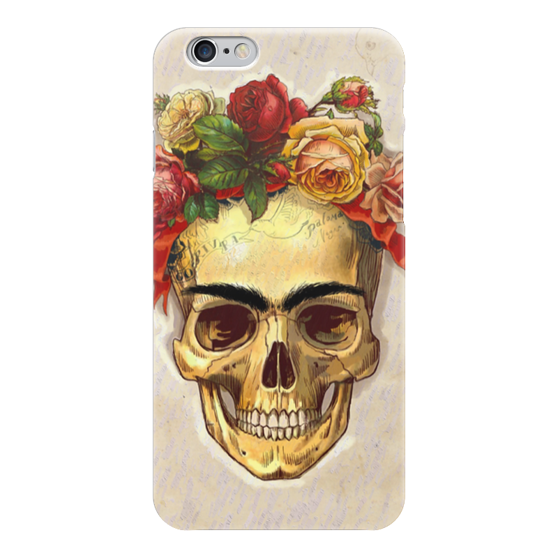 Чехол для iPhone 6 глянцевый Printio Frida forever