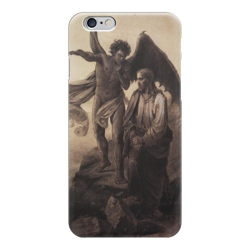 Чехол для iPhone 6 глянцевый Printio Искушение христа (василий суриков) рюкзак с полной запечаткой printio искушение христа василий суриков