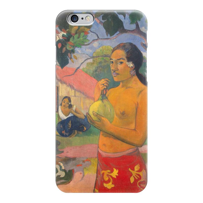 Чехол для iPhone 6 глянцевый Printio Женщина, держащая плод (поль гоген) чехол для iphone 6 глянцевый printio молодая женщина в соломенной шляпе
