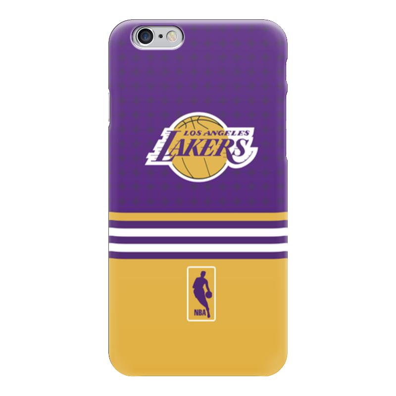 Чехол для iPhone 6 глянцевый Printio Lakers case pro чехол для iphone 5 глянцевый с полной запечаткой printio lakers case pro
