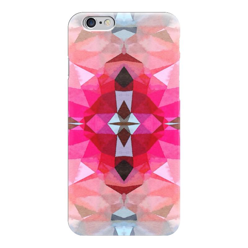 Чехол для iPhone 6 глянцевый Printio Розовая бомба