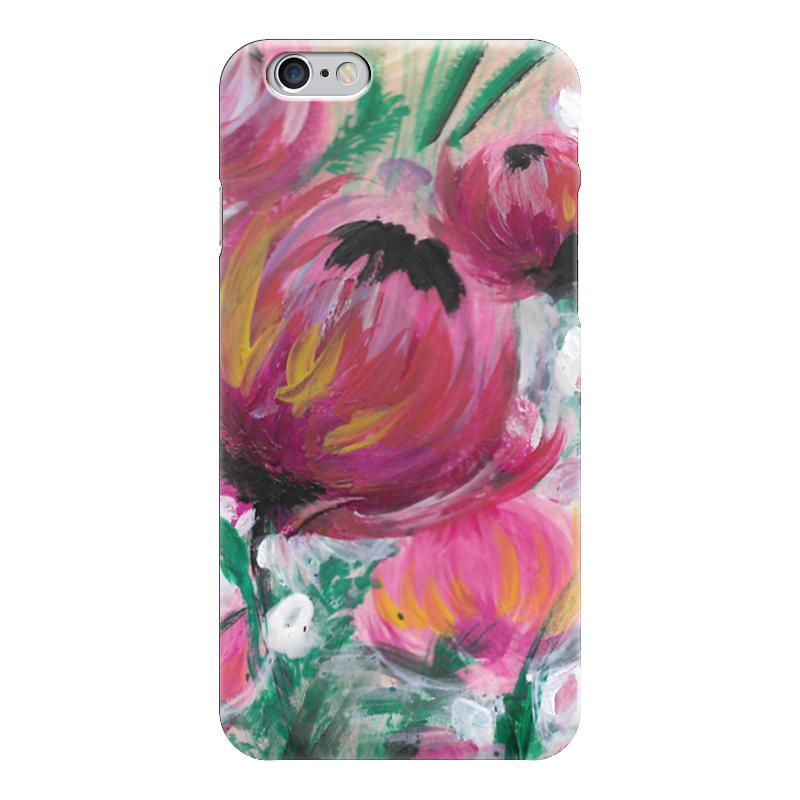 Чехол для iPhone 6 глянцевый Printio Полевые цветы