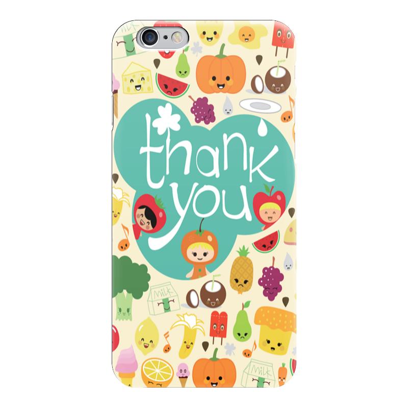 Чехол для iPhone 6 глянцевый Printio Фрукты овощи игнатова а овощи и фрукты