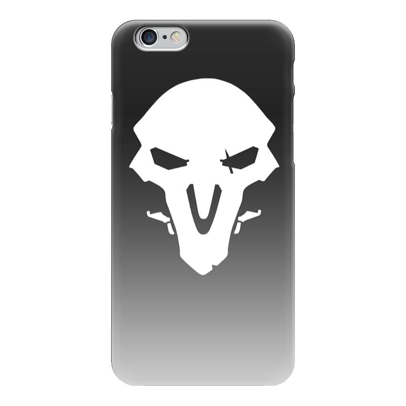 Чехол для iPhone 6 глянцевый Printio Overwatch reaper жнец