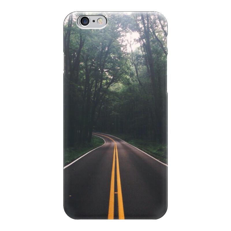 Чехол для iPhone 6 глянцевый Printio Дорога чехол для iphone 6 глянцевый printio сальвадор дали