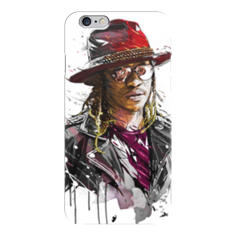 Чехол для iPhone 6 глянцевый Printio Человек в шляпе чехол для iphone 6 глянцевый printio молодая женщина в соломенной шляпе