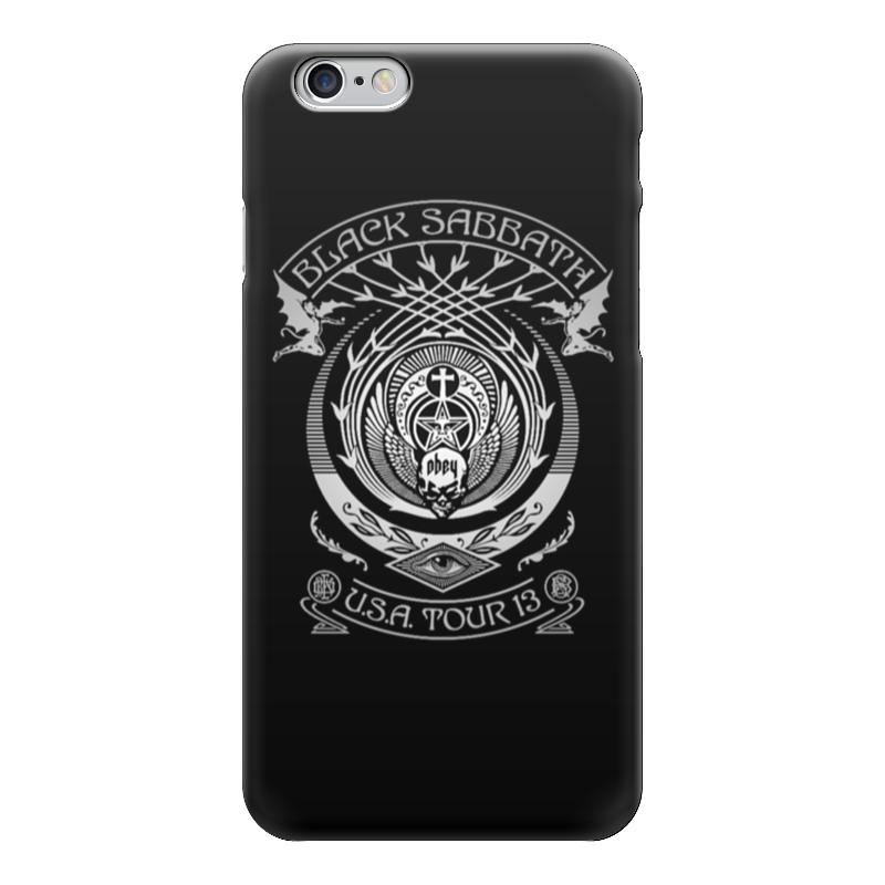 Чехол для iPhone 6 глянцевый Printio Black sabbath чехол для iphone 6 глянцевый printio spinner mobile black спиннер чехол