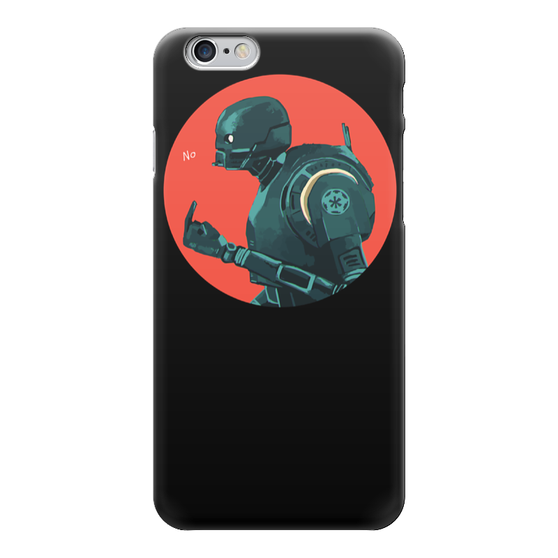 Чехол для iPhone 6 глянцевый Printio Star wars rogue one k2so/ изгой один к2со