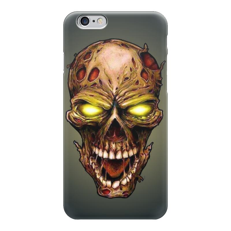 Чехол для iPhone 6 г��янцевый Printio Skull art чехол для iphone 7 глянцевый printio horror art