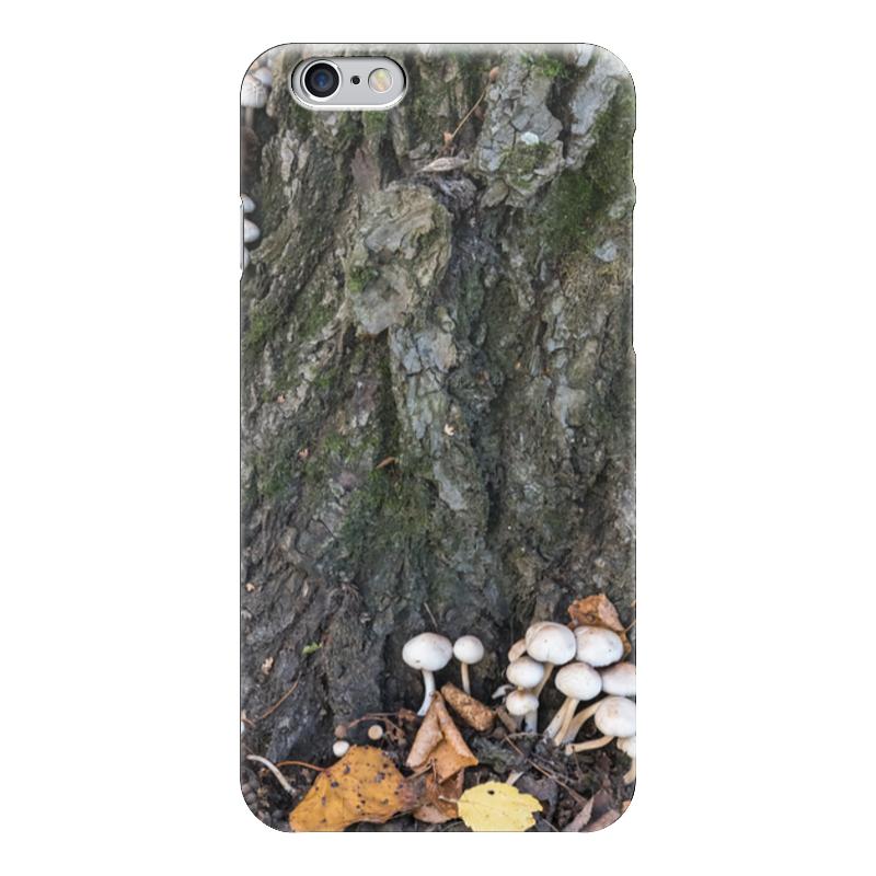 Чехол для iPhone 6 глянцевый Printio Кора дерева кора