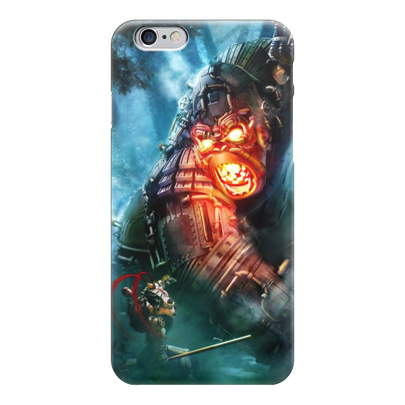 Чехол для iPhone 6 глянцевый Printio Кинг конг / steampunk