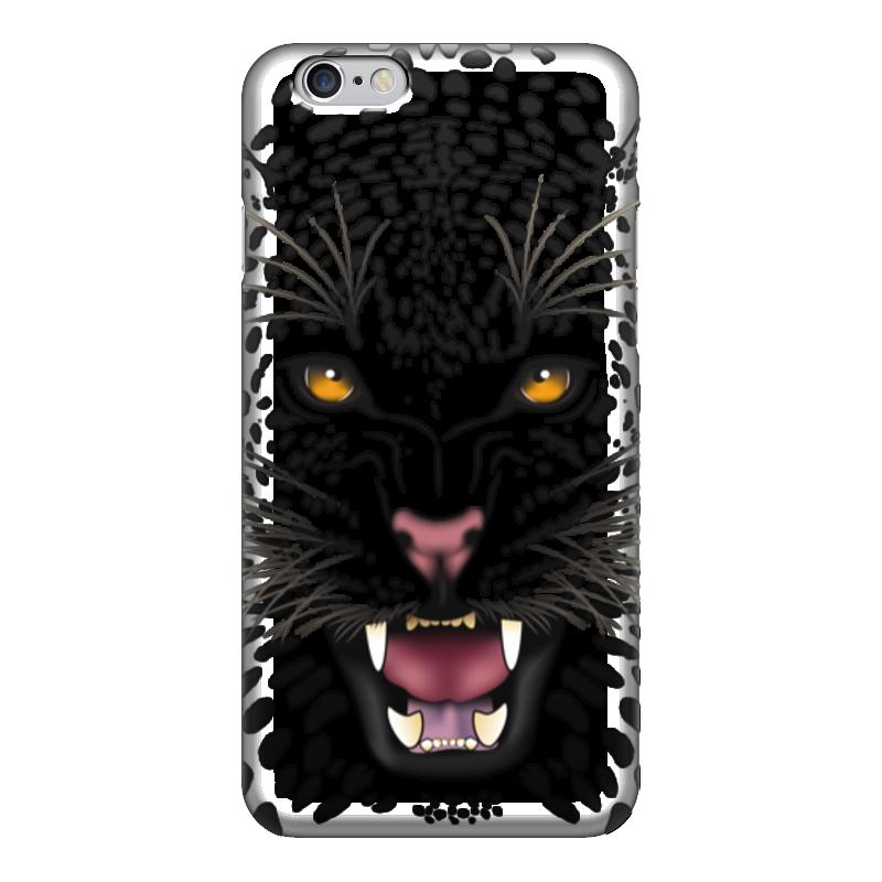 Чехол для iPhone 6 глянцевый Printio Леопард чехол