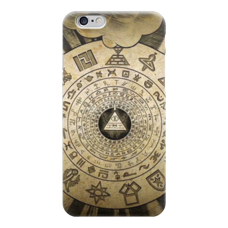 Чехол для iPhone 6 глянцевый Printio Билл шифр (гравити фолз) все цены