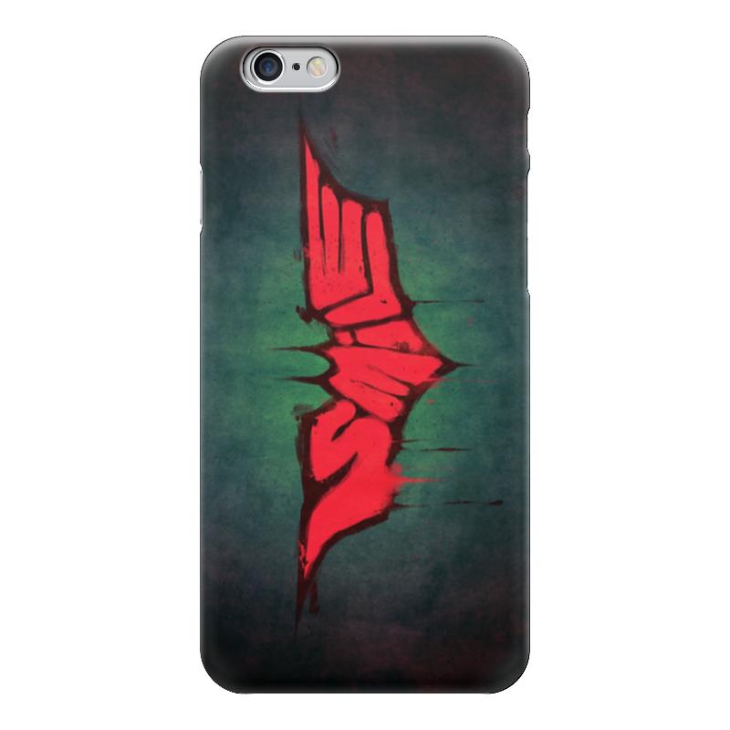 Чехол для iPhone 6 глянцевый Printio Batman x joker (smile) лонгслив printio ice king x batman