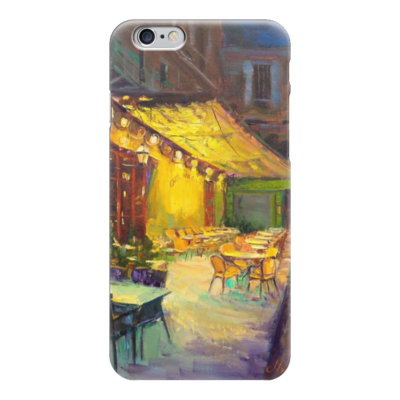 Чехол для iPhone 6 глянцевый Printio Cafe van gogh чехол для iphone 6 глянцевый printio сад на улице корто сад на монмартре ренуар