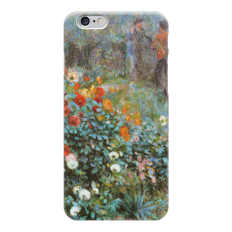 Чехол для iPhone 6 глянцевый Printio Сад на улице корто (сад на монмартре) (ренуар) чехол для iphone 6 глянцевый printio бабушкин сад