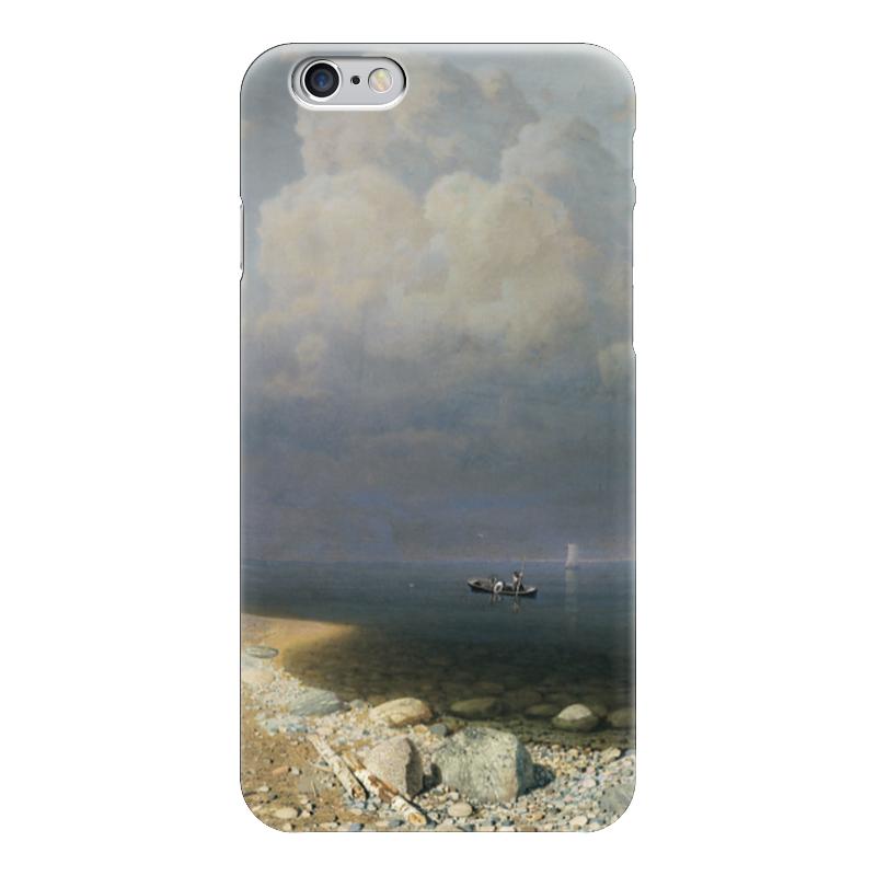 Чехол для iPhone 6 глянцевый Printio Ладожское озеро (картина архипа куинджи) чехол для blackberry z10 printio север картина архипа куинджи