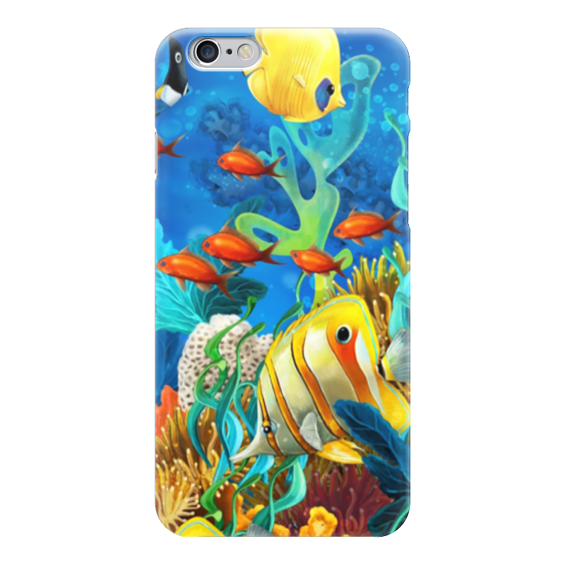 Чехол для iPhone 6 глянцевый Printio Красота океана