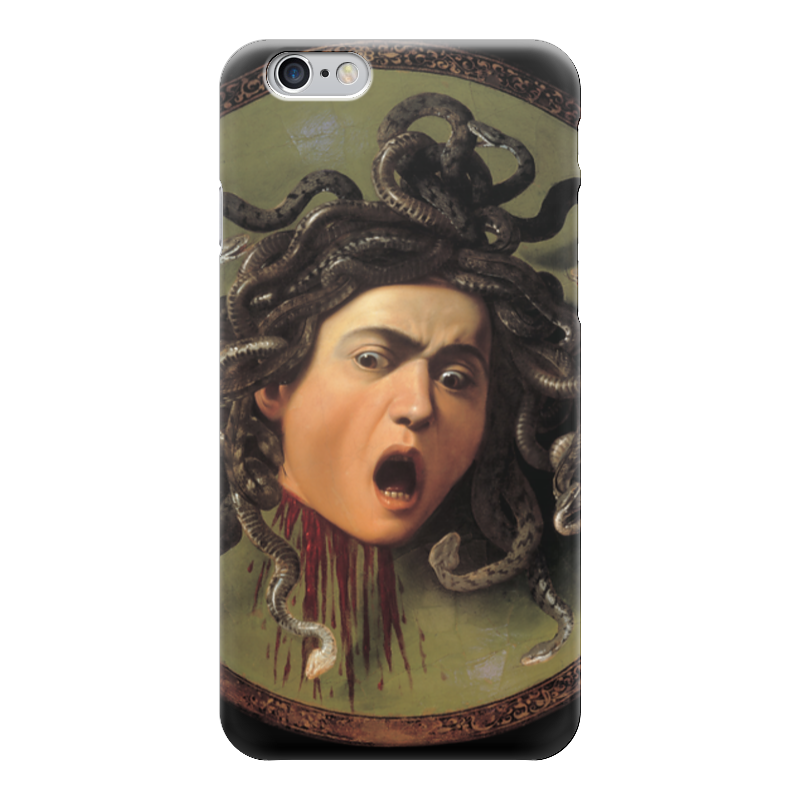 Чехол для iPhone 6 глянцевый Printio Медуза (картина караваджо) караваджо