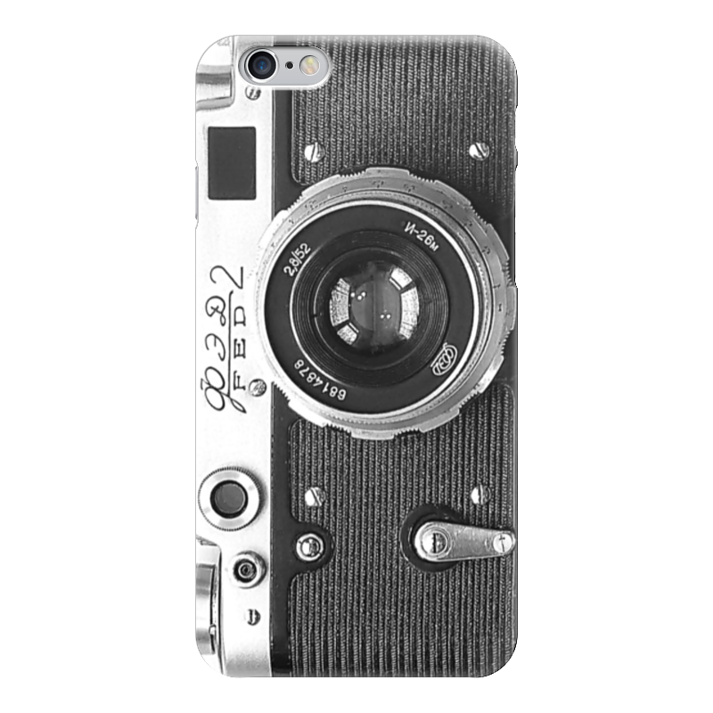 Чехол для iPhone 6 глянцевый Printio Фотоаппарат чехол для iphone 7 глянцевый printio фотоаппарат