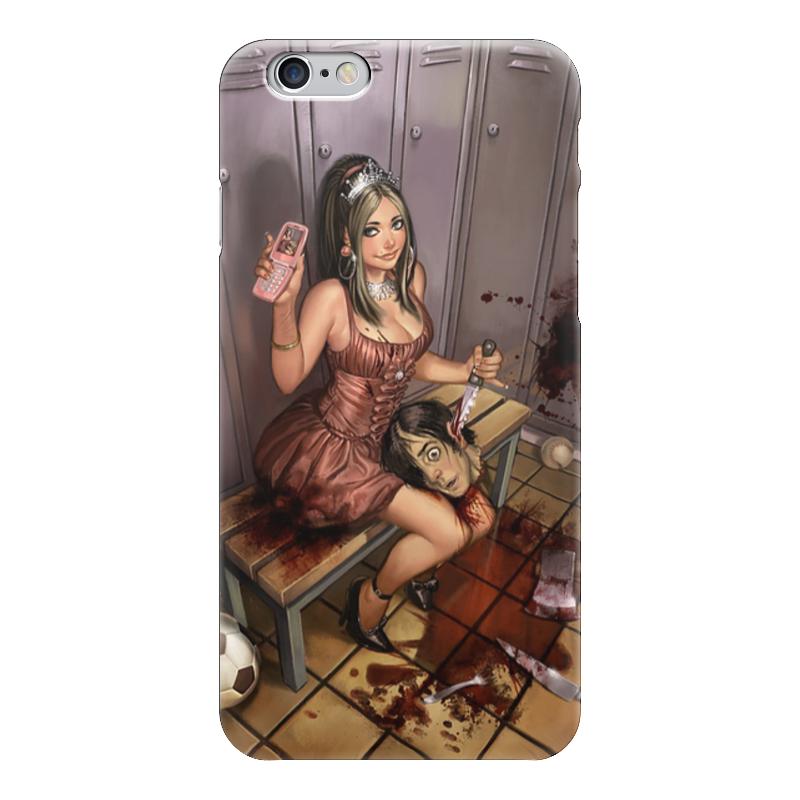 Чехол для iPhone 6 глянцевый Printio Horror art чехол для iphone 6 глянцевый printio horror art