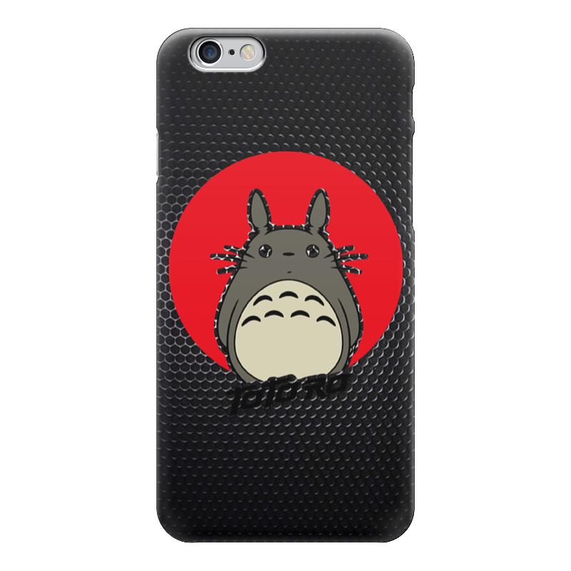 Чехол для iPhone 6 глянцевый Printio Totoro (тоторо) решетка радиатора т4 москва