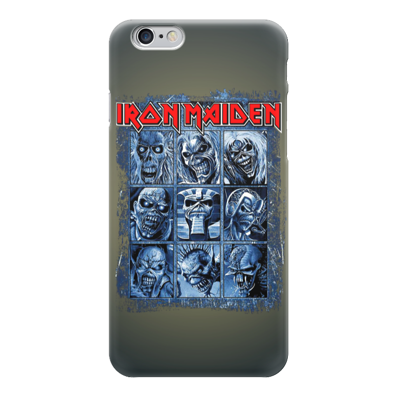 Чехол для iPhone 6 глянцевый Printio Iron maiden band cd iron maiden a matter of life and death