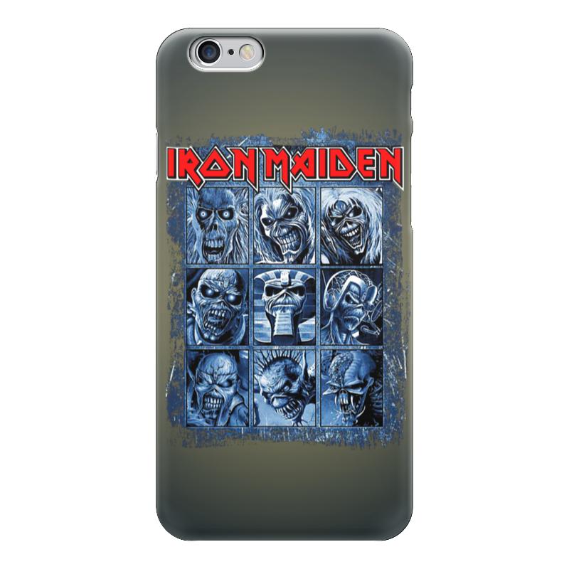 Чехол для iPhone 6 глянцевый Printio Iron maiden band чехол для iphone 6 глянцевый printio iron maiden band