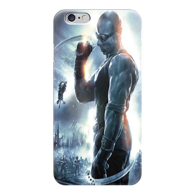 Чехол для iPhone 6 глянцевый Printio Риддик / riddick