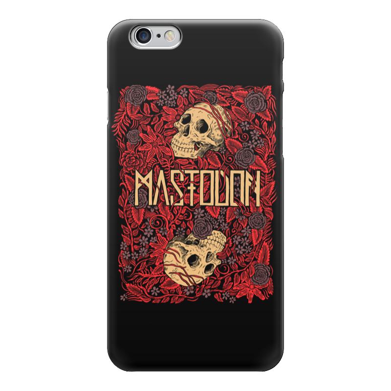Чехол для iPhone 6 глянцевый Printio Mastodon band