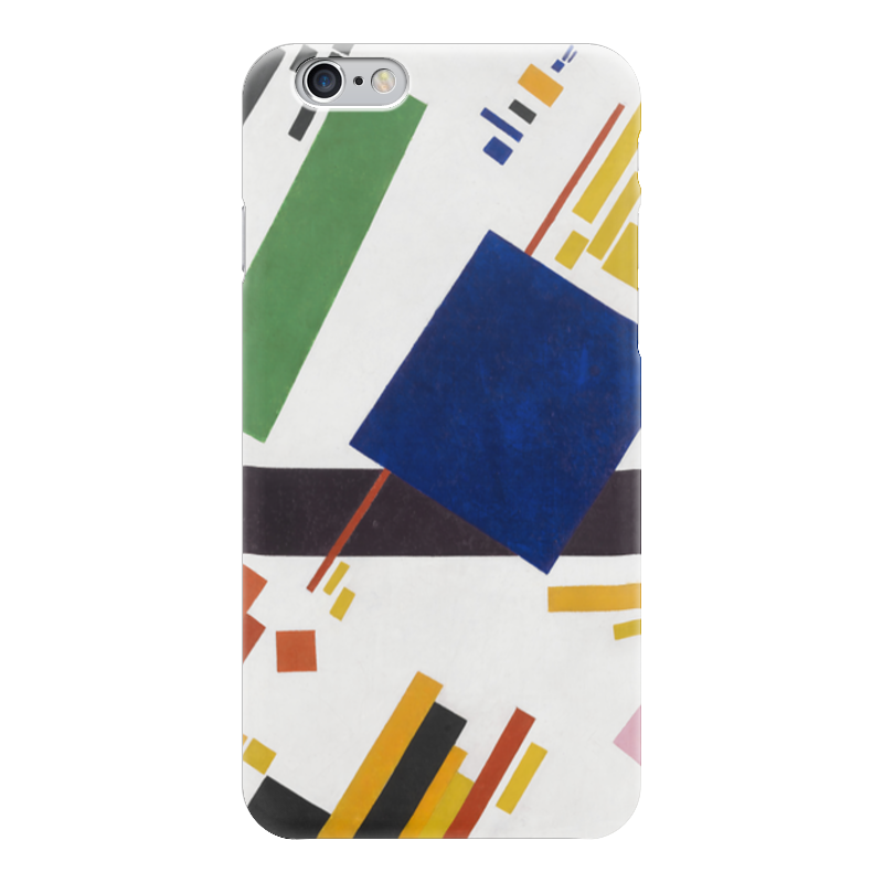 Чехол для iPhone 6 глянцевый Printio Супрематическая композиция (казимир малевич)