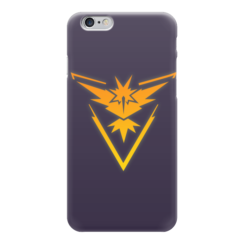 Чехол для iPhone 6 глянцевый Printio Pokemon go: instinct team свитшот print bar pokemon go instinct team