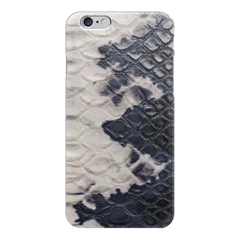 Чехол для iPhone 6 глянцевый Printio Змеиная кожа какой iphone лучше для россии