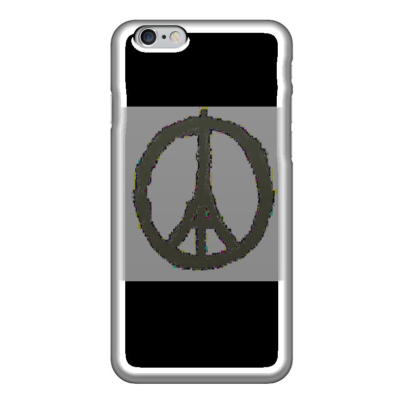 футболка стрэйч printio pray for paris молитесь за париж Чехол для iPhone 6 глянцевый Printio Pray for paris   молитесь за париж