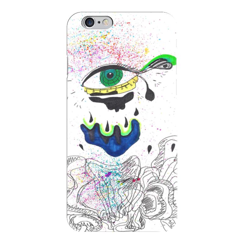 Чехол для iPhone 6 глянцевый Printio Green eye чехол для iphone 6 глянцевый printio красавица и чудовище