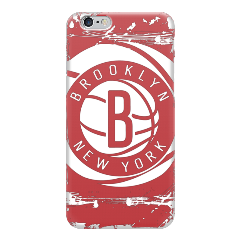Чехол для iPhone 6 глянцевый Printio Brooklyn nets лонгслив printio brooklyn bike