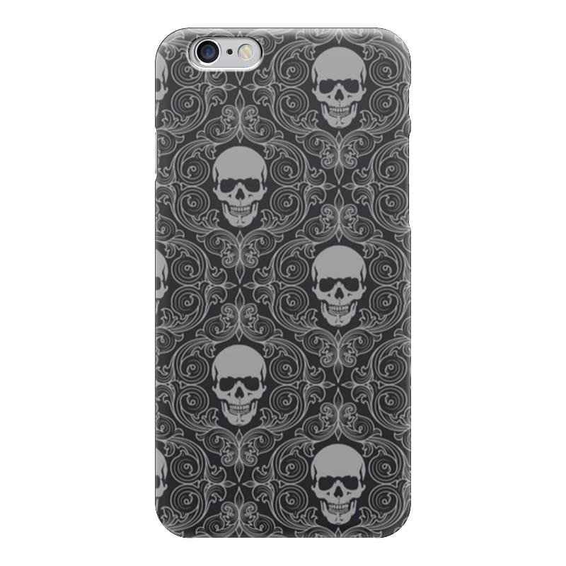 Чехол для iPhone 6 глянцевый Printio Texture skull чехол для iphone 7 глянцевый printio skull art