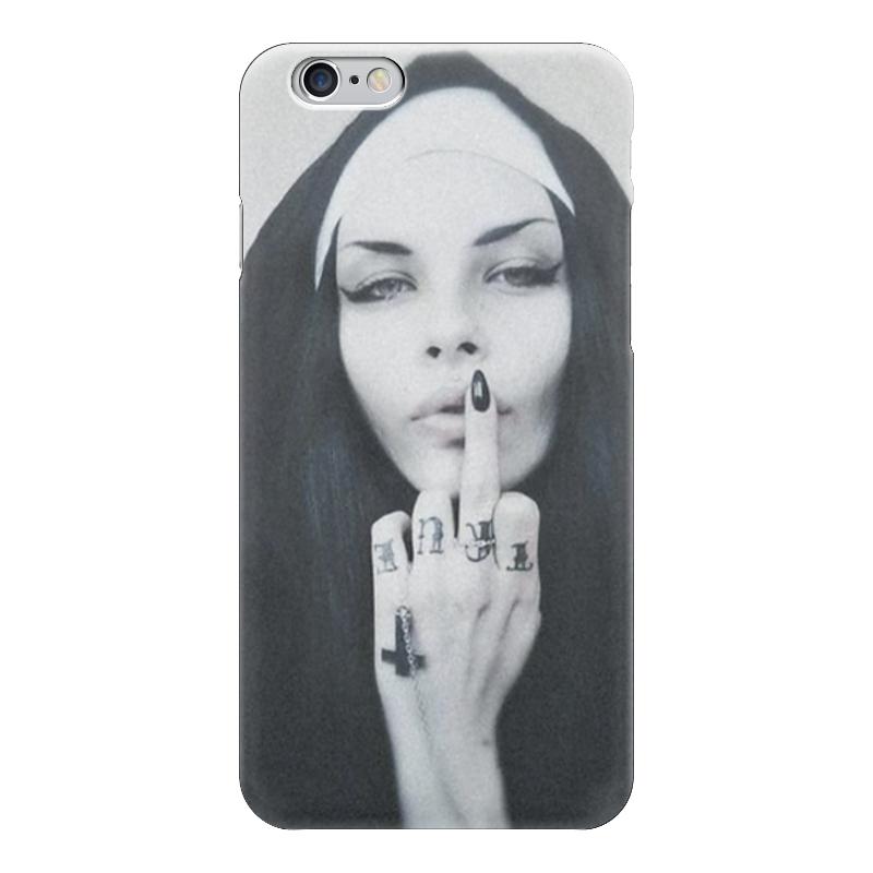 Чехол для iPhone 6 глянцевый Printio Nun - 1 чехол для iphone 6 глянцевый printio армянский крест