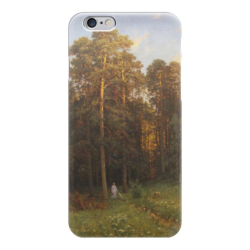 Чехол для iPhone 6 глянцевый Printio На опушке соснового леса (иван шишкин) иван комлев ковыль