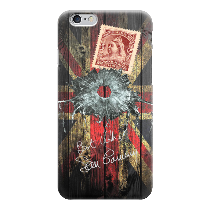 Чехол для iPhone 6 глянцевый Printio Британский коллаж