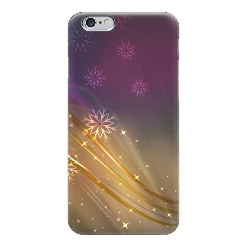 Чехол для iPhone 6 глянцевый Printio Снежная фантазия