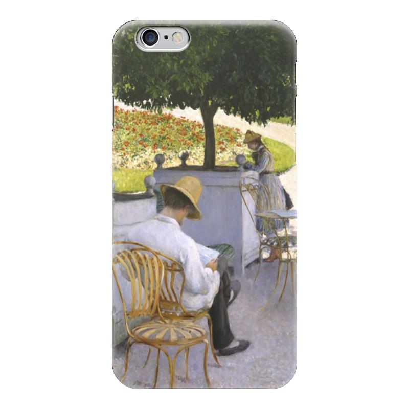 Чехол для iPhone 6 глянцевый Printio Апельсиновые деревья (картина кайботта)