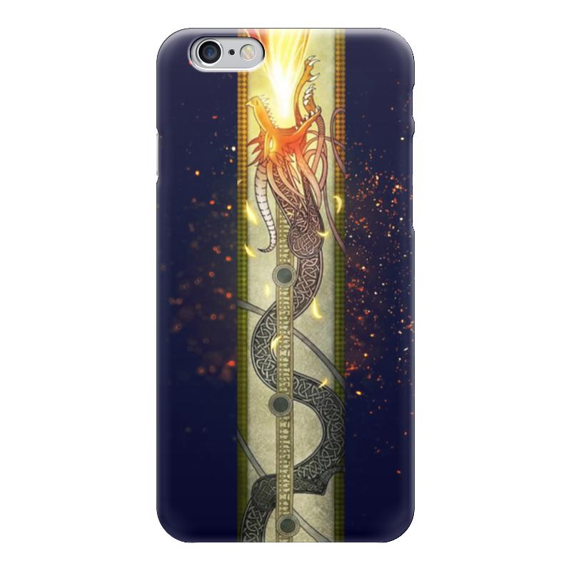 Чехол для iPhone 6 глянцевый Printio Dragon lore чехол для iphone 5 printio с именем анна